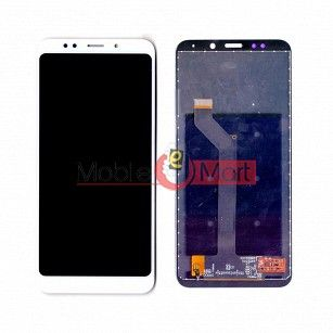 Lcd Display With Touch Screen Digitizer Panel Combo Folder Glass For Xiaomi Redmi Note 5 (White)