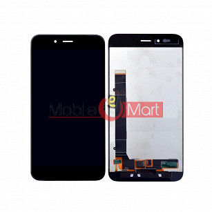 Lcd Display With Touch Screen Digitizer Panel Combo Folder Glass For Xiaomi Mi A1 (White)