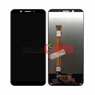 Lcd Display With Touch Screen Digitizer Panel Combo Folder Glass For Oppo A83 (White)