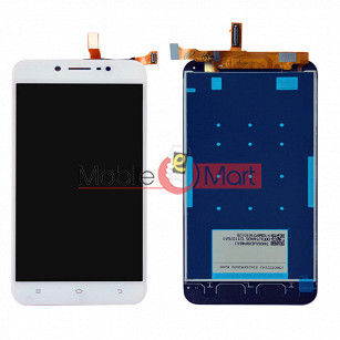 Lcd Display With Touch Screen Digitizer Panel Combo Folder Glass For Vivo Y66 (White)