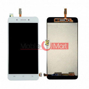 Lcd Display With Touch Screen Digitizer Panel Combo Folder Glass For Vivo Y55 (White)