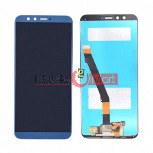 Lcd Display With Touch Screen Digitizer Panel Combo Folder Glass For Honor 9 Lite (White)
