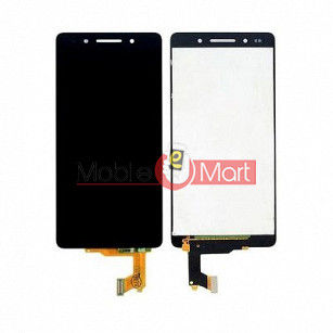 Lcd Display With Touch Screen Digitizer Panel Combo Folder Glass For HONOR 7 (White)