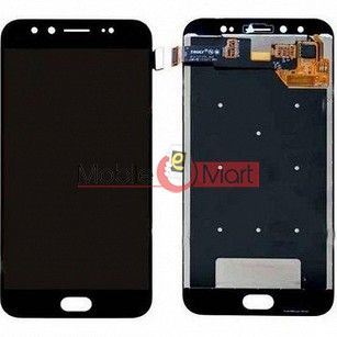 Lcd Display With Touch Screen Digitizer Panel Combo Folder Glass For Vivo V5 Plus (White)