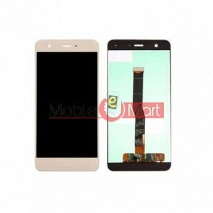 Lcd Display With Touch Screen Digitizer Panel Combo Folder Glass For Huawei nova 2 (White)