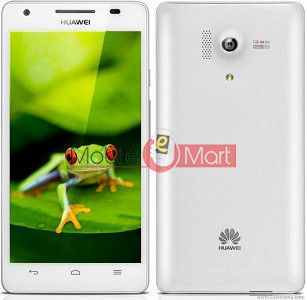 Lcd Display With Touch Screen Digitizer Panel Combo Folder Glass For Honor 3 (White)