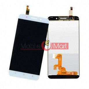 Lcd Display With Touch Screen Digitizer Panel Combo Folder Glass For Honor 4C (White)
