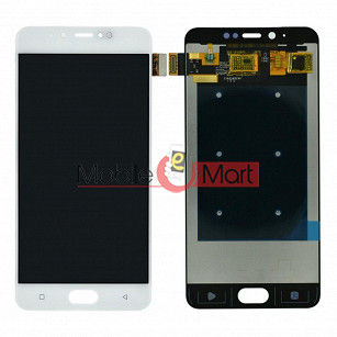 Lcd Display With Touch Screen Digitizer Panel Combo Folder Glass For Gionee S10 Lite (White)