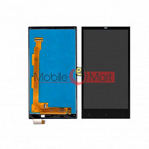 Lcd Display With Touch Screen Digitizer Panel Combo Folder Glass For Gionee Elife E7 Mini (White)