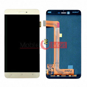 Lcd Display With Touch Screen Digitizer Panel Combo Folder Glass For Gionee S6 (White)