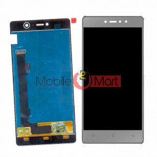 Lcd Display With Touch Screen Digitizer Panel Combo Folder Glass For Gionee S6s (White)