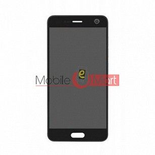Lcd Display With Touch Screen Digitizer Panel Combo Folder Glass For Micromax Dual 4 E4816 (White)