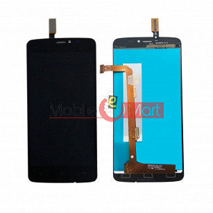 Lcd Display With Touch Screen Digitizer Panel Combo Folder Glass For Gionee CTRL V4S (White)