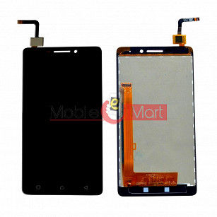 Lcd Display With Touch Screen Digitizer Panel Combo Folder Glass For Lenovo Vibe P1m (White)