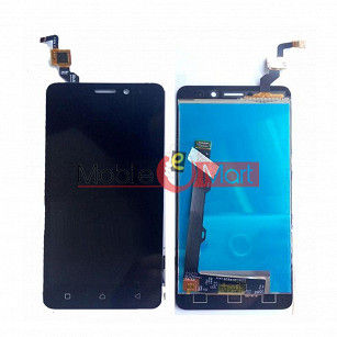 Lcd Display With Touch Screen Digitizer Panel Combo Folder Glass For Lenovo K6 Power (White)