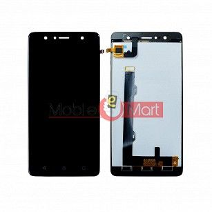 Lcd Display With Touch Screen Digitizer Panel Combo Folder Glass For Lenovo K8 (White)