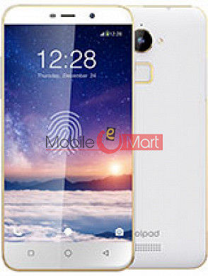 Lcd Display With Touch Screen Digitizer Panel Combo Folder Glass For Coolpad Note 3 Lite  (White)