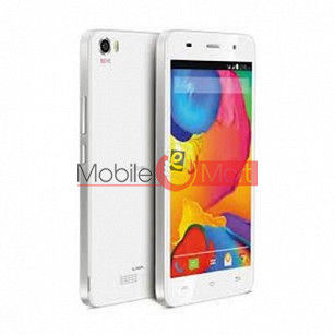 Lcd Display With Touch Screen Digitizer Panel Combo Folder Glass For Lava Iris X9 (White)