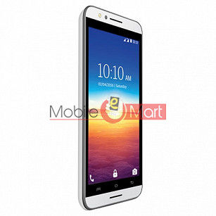 Lcd Display With Touch Screen Digitizer Panel Combo Folder Glass For Lava A67 (White)