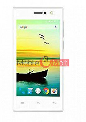 Lcd Display With Touch Screen Digitizer Panel Combo Folder Glass For Lava A76 (white)