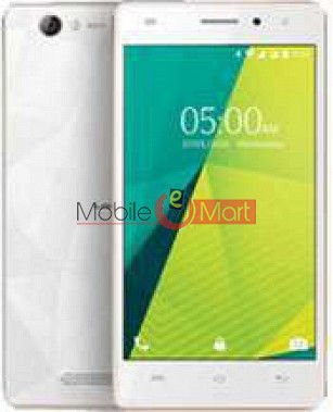 Lcd Display With Touch Screen Digitizer Panel Combo Folder Glass For Lava X11 (White)