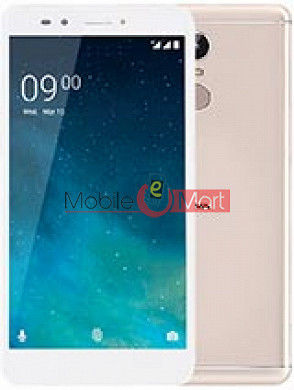 Lcd Display With Touch Screen Digitizer Panel Combo Folder Glass For Lava Z25 (White)