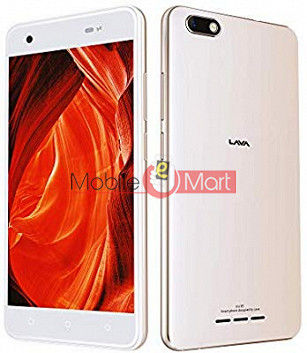 Lcd Display With Touch Screen Digitizer Panel Combo Folder Glass For Lava Iris 65 (White)