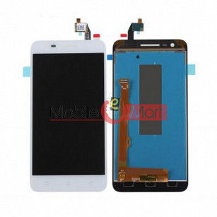 Lcd Display With Touch Screen Digitizer Panel Combo Folder Glass For Lenovo Vibe C2 (White)