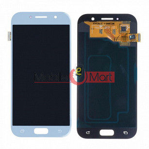 Lcd Display With Touch Screen Digitizer Panel Combo Folder Glass For Samsung Galaxy A5 2017 (Gold)