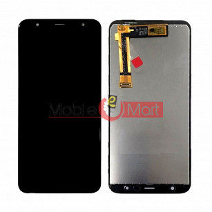 Lcd Display With Touch Screen Digitizer Panel Combo Folder Glass For Samsung Galaxy J4 Plus (Black)