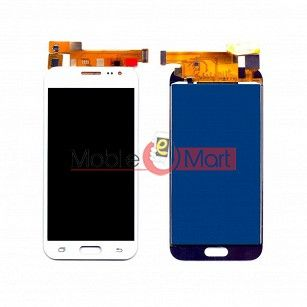Lcd Display With Touch Screen Digitizer Panel Combo Folder Glass For Samsung Galaxy J2 (White)