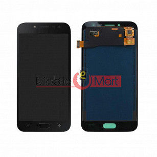 Lcd Display With Touch Screen Digitizer Panel Combo Folder Glass For Samsung Galaxy J2 Pro (White)