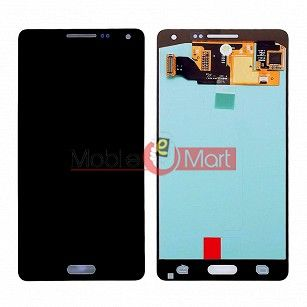 Lcd Display With Touch Screen Digitizer Panel Combo Folder Glass For Samsung Galaxy A5 (Black)