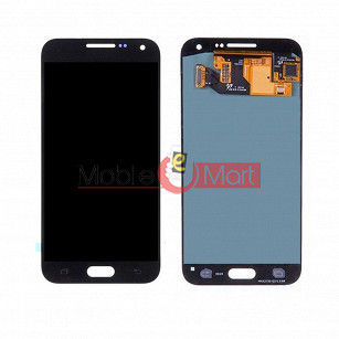 Lcd Display With Touch Screen Digitizer Panel Combo Folder Glass For Samsung Galaxy E5 (WHITE)