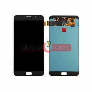Lcd Display With Touch Screen Digitizer Panel Combo Folder Glass For Samsung Galaxy A9 Pro 2016 (Black)