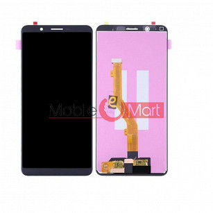 Lcd Display With Touch Screen Digitizer Panel Combo Folder Glass For Vivo Y71i (Black)