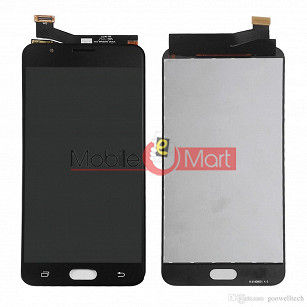 Lcd Display With Touch Screen Digitizer Panel Combo Folder Glass For Samsung Galaxy J7 Prime (White)