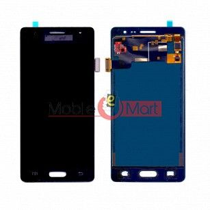 Lcd Display With Touch Screen Digitizer Panel Combo Folder Glass For Samsung Z3 (Gold)