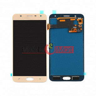 Lcd Display With Touch Screen Digitizer Panel Combo Folder Glass For Samsung Galaxy J7 Duo (Black)