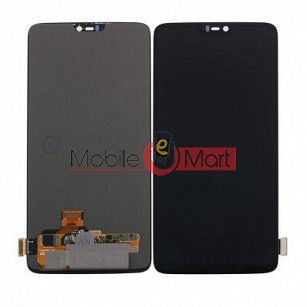 Lcd Display With Touch Screen Digitizer Panel Combo Folder Glass For OnePlus 6