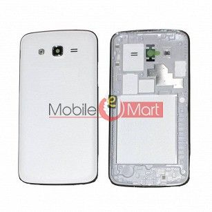 Full Body Housing Panel Faceplate For Samsung Galaxy J2 White