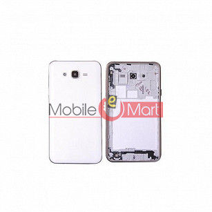 Full Body Housing Panel Faceplate For Samsung Galaxy J5 White