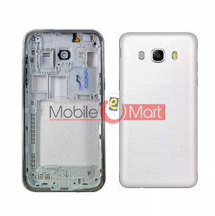 Full Body Housing Panel Faceplate For Samsung Galaxy J5 (2016) White