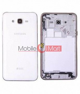 Full Body Housing Panel Faceplate For Samsung Galaxy J7 White