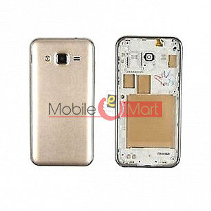 Full Body Housing Panel Faceplate For Samsung Galaxy On5 Gold