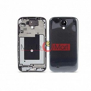 Full Body Housing Panel Faceplate For Samsung Galaxy S4 Black