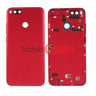 Full Body Housing Panel Faceplate For Xiaomi Mi A1 Red