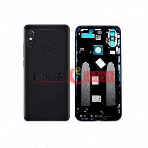 Full Body Housing Panel Faceplate For Xiaomi Mi A2 Black
