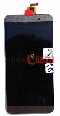 Lcd Display With Touch Screen Digitizer Panel Combo Folder Glass For Micromax Canvas Juice 4G Q461