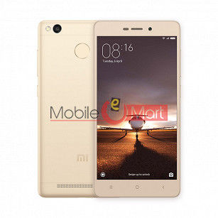 Back Panel For Xiaomi Redmi 3S Gold